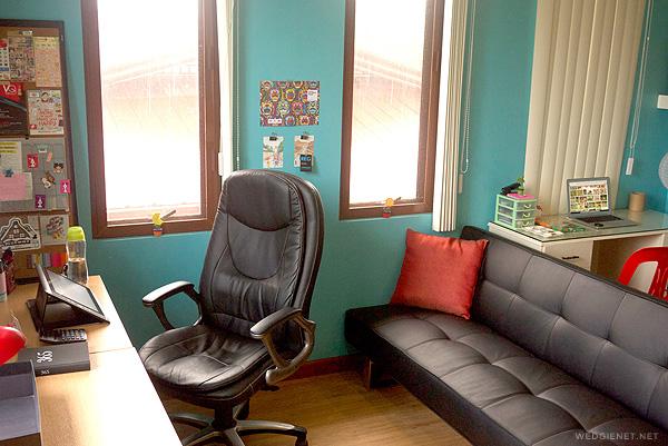 My creative workspace on Katha magazine + a giveaway!