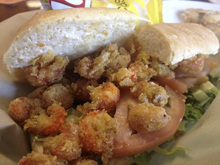 Crawfish Po Boy