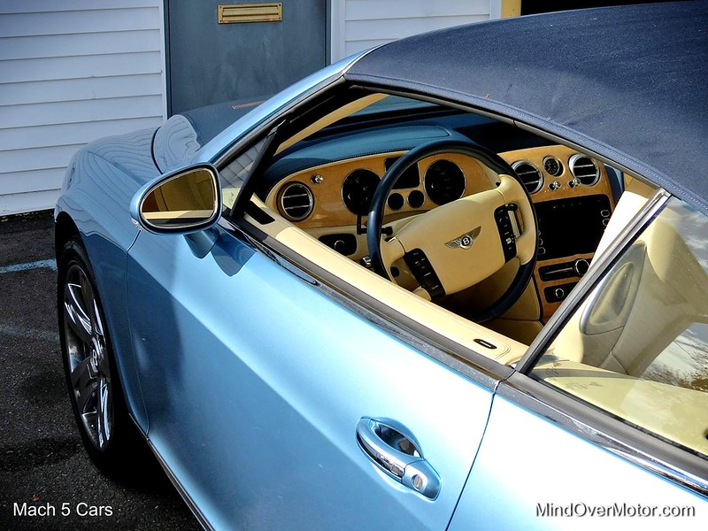 Bentley Continental GTC at Mach 5