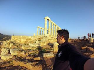 Admirando el Templo de Poseidón Cabo Sounion Cabo Sounion y el Templo de Poseidón 12174225376 2223fe0d24 n