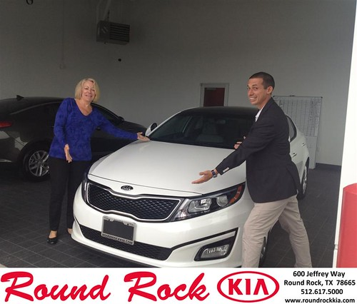 Thank you to Denise  Mcquiston on your new 2014 #Kia #Optima from Derek Martinez and everyone at Round Rock Kia! #NewCar by RoundRockKia