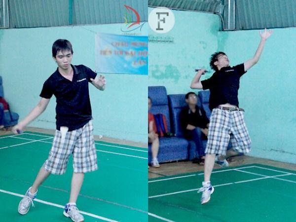 Minh Dương – đại diện K50D – giành lợi thế từ set đầu của trận đấu