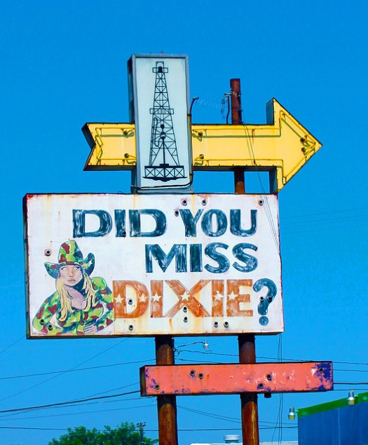Did You Miss Dixie sign