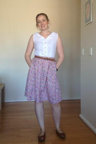 Floral Skirt Hack