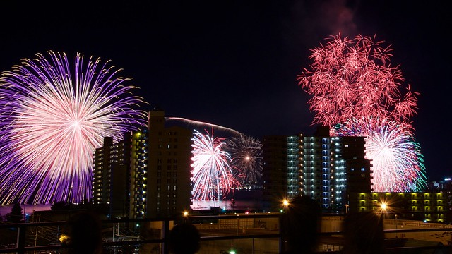 The Biwako Great Fireworks 2015