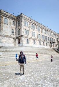 Victor at Alcatraz
