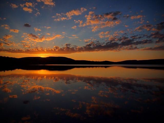 Bras D'or Lake Sunset