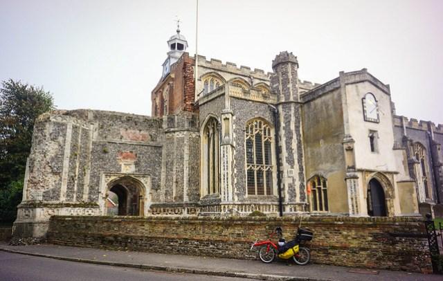 Strange church in Suffolk