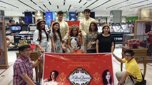 Katy Perry Killer Queen Fragrance launch Manila