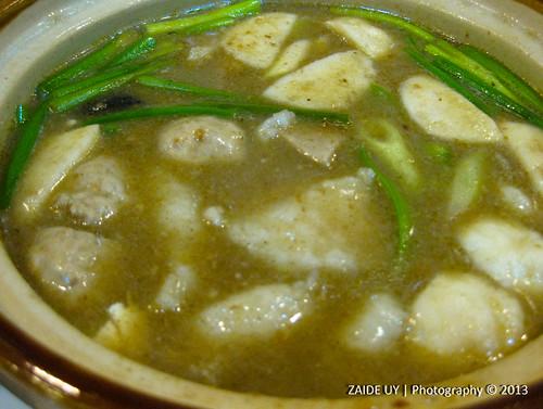 Sate Fish Fillet Soup
