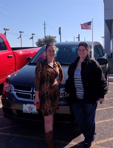 Thank you to Arlene Bird on your new 2014 #Dodge #Journey from Stevie Parham and everyone at Dodge City of McKinney! #NewCar by Dodge City McKinney Texas