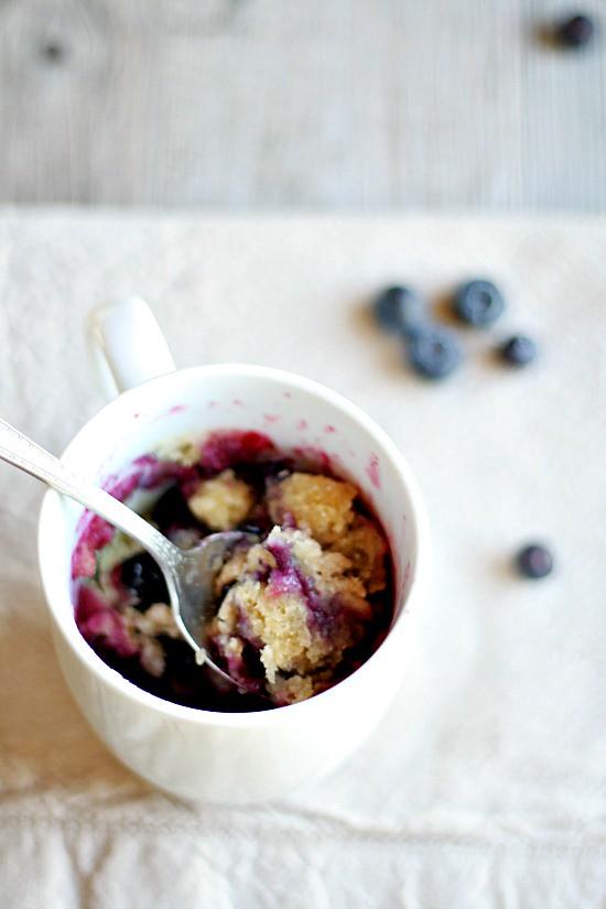 Blueberry Muffin in a Mug