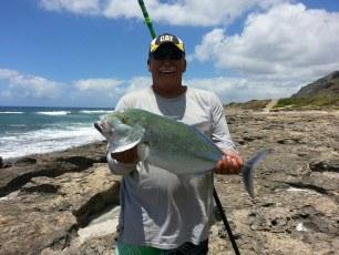 "Lester Meyers Sr. -  Kaena Point Mokuleia Side - 18 pound Omilu - "" God is Good!!"""