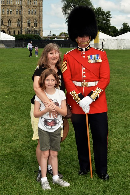 Caitlin, Rebecca, and the Parliament Guard