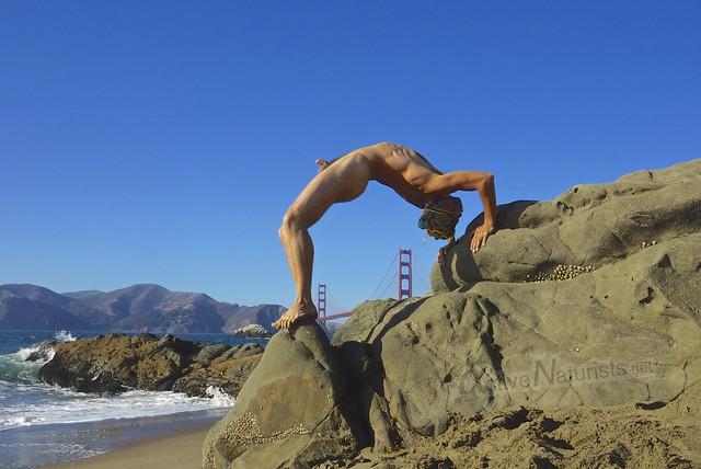naturist 0004 Baker Beach, San-Francsico, CA, USA