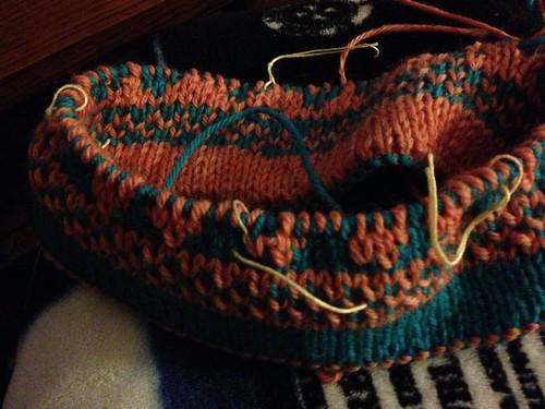 OP's Double Knit Flower Hat