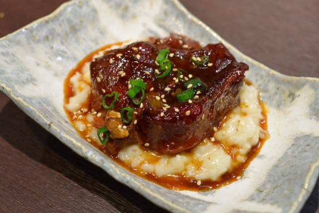 beef shank risotto