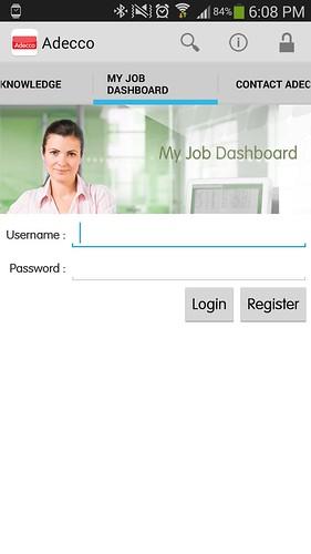 Sign in เวลาจะใช้งาน Adecco Thailand app ด้วย