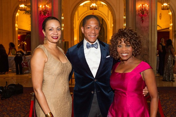 Dierdre Luddington, Brian Conley and Alfre Woodard