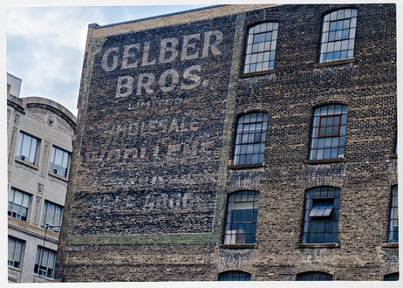 Gelber Bros - Ghost Sign