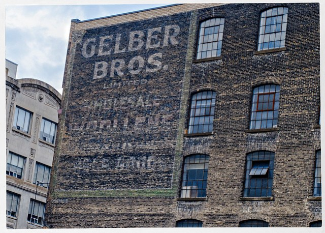 Gelber Bros - Ghost Sign