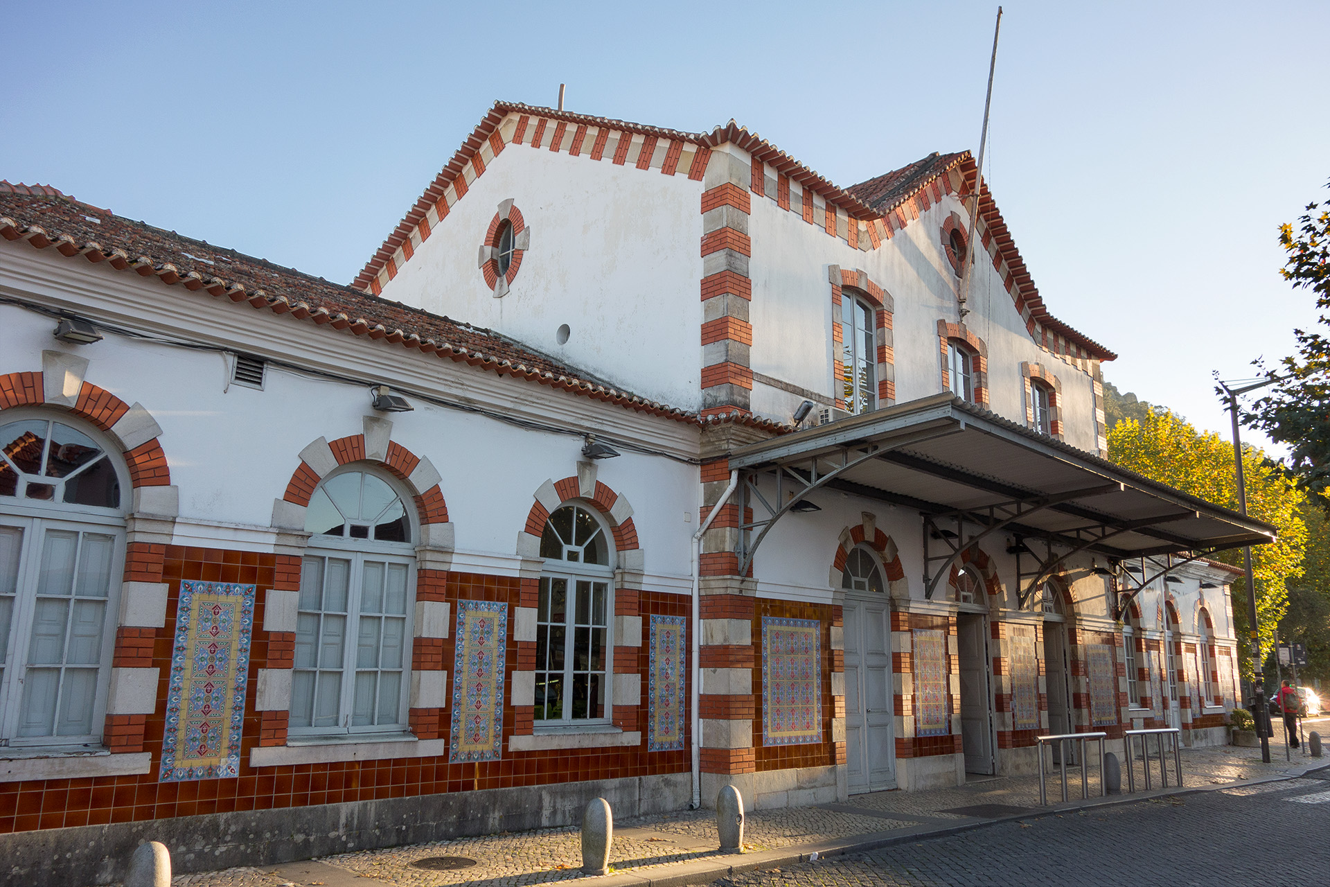 Sintra Train Station, Portugal.