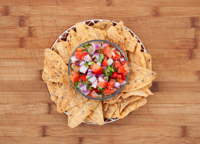 Salsa and Veggie Snack Chips