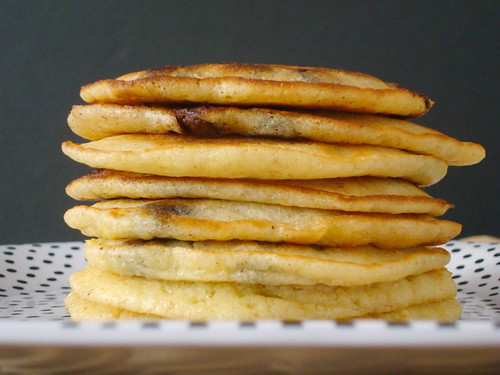 Brown Butter Chocolate Chip Pancakes
