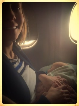 Marlé's first flight!