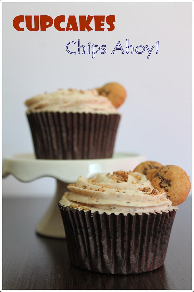 Cupcakes de Chips Ahoy