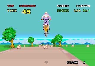 Enduro Racer - Arcade