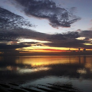Sunrise at Sanur