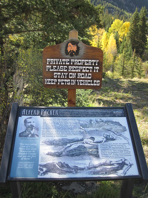Picture fromAlferd Packer Massacre Site