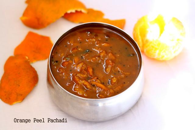 Orange thol pachadi