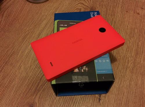 Nokia X back