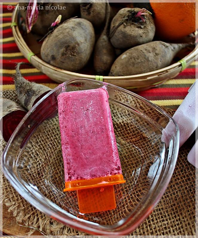 Beet & Orange Icecream