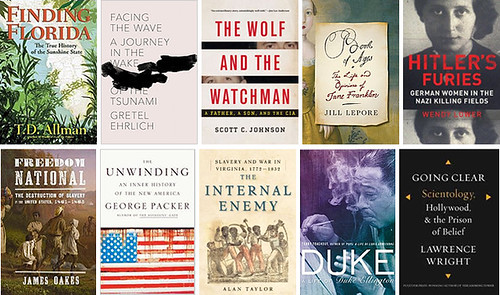 2013 NATIONAL BOOK AWARD LONGLIST FOR NONFICTION