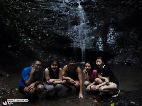 temburong mini waterfall