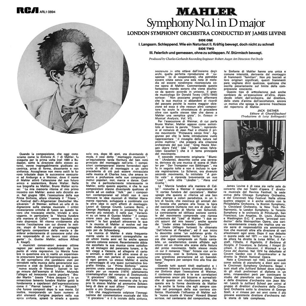 Gustav Mahler – Symphonie No. 1
