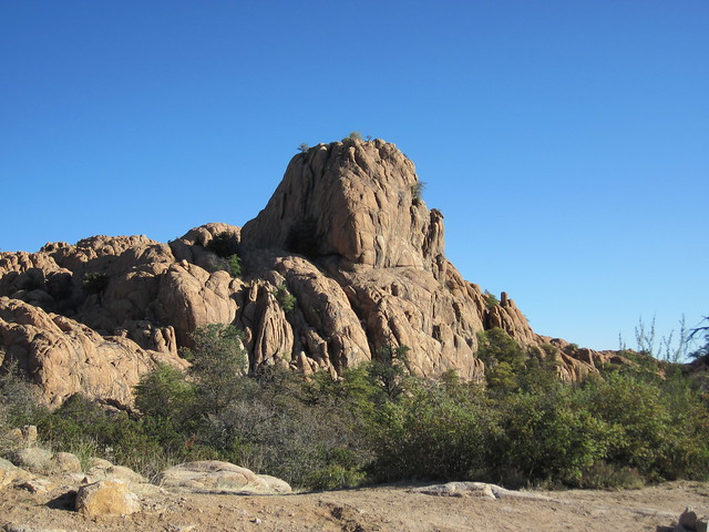 The Granite Dells In Prescott, Arizona