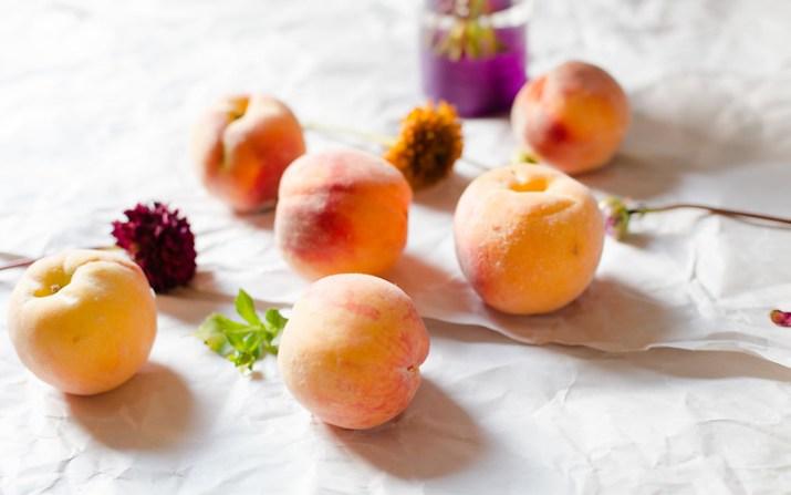 Caramel Peach Pie
