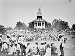 Students Move on Police Lines at U of MD: May 1970