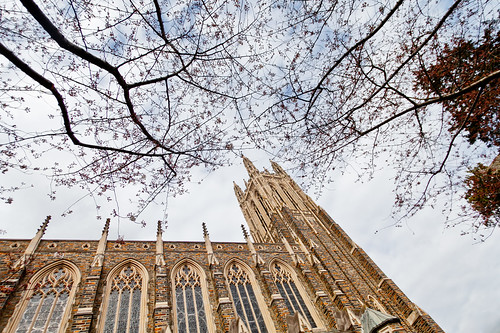 Duke Chapel, early spring