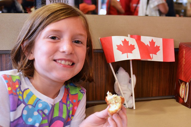 Tim Horton's on Canada Day!