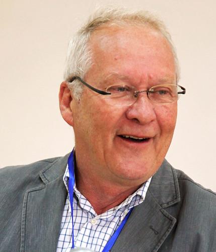 Dirk Hoekstra at the inception workshop