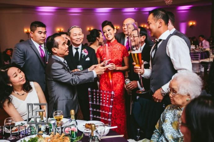Vietnamese wedding reception