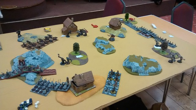 War of the Ring WotR Scenario: Troll Trouble. Game picture 2