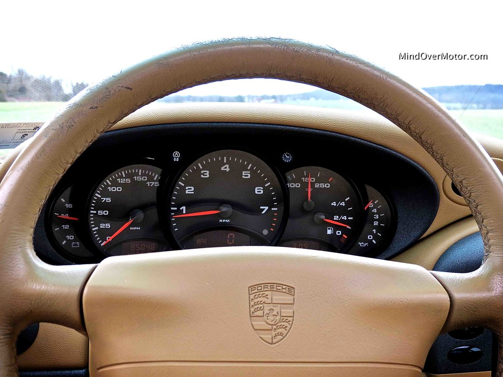 1999 Porsche 911 Carrera 996 Interior
