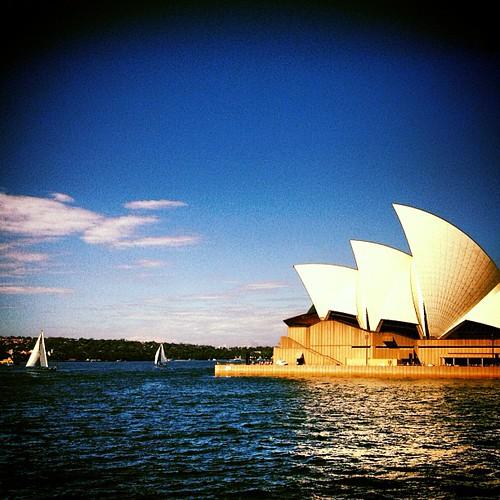 #sydney #operahouse #australia by @MySoDotCom