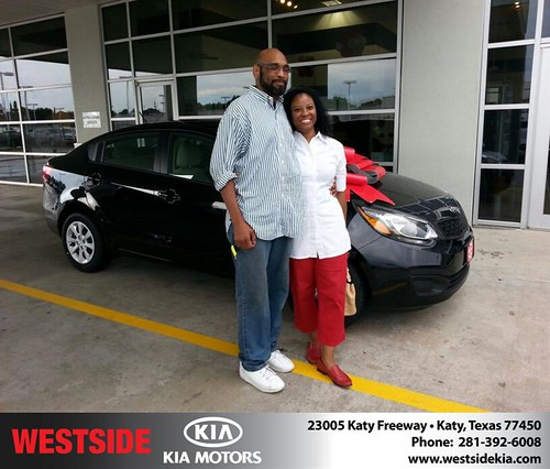 Thank you to Robert Love on your new 2013 #Kia #Rio from William Hadnott and everyone at Westside Kia! #NewCarSmell by Westside KIA